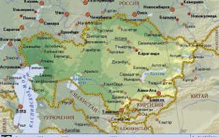 Миграционная карта при въезде в Казахстан: образец заполнения в 2020 году