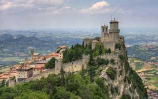 Государство Сан-Марино: описание, язык климат и состав населения