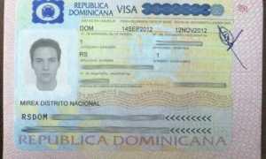 Виза в Доминикану для белорусов в 2020 году: правила въезда