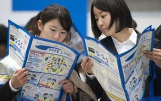 Уровень безработицы в Японии: выплата пособий в 2020 году