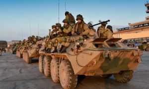 Зарплата военных, служащих по контракту в Сирии в 2020 году