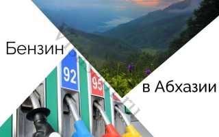 Цена и стоимость 1 литра бензина в Абхазии в 2020 году: действую ли российские водительские права