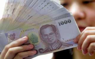 Средняя зарплата в Таиланде в 2019-2020 годах