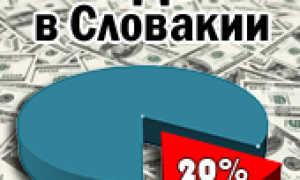 Налоги в Словакии для физических и юридических лиц в 2020: размер НДС