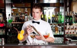 Зарплата бармена в Москве и других городах России в 2020 году