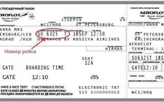 Онлайн регистрация на рейс Аэрофлота по электронному номеру билета: за сколько часов это можно сделать в 2020 году