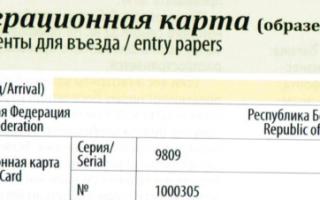 Как проверить подлинность миграционной карте по базе ГУВМ МВД онлайн в 2020 году