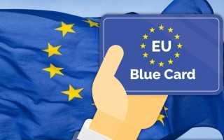 Голубая карта ЕС – список профессий и как ее получить в 2020 году