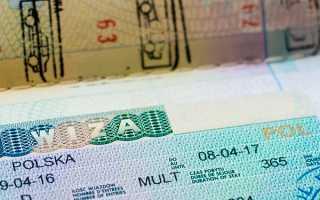 Национальная виза D в Польшу: типы долгосрочных разрешений и их оформление в 2020 году