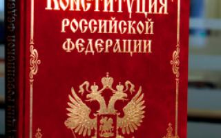 Личные права и свободы человека и гражданина РФ в 2020 году: что к ним относится