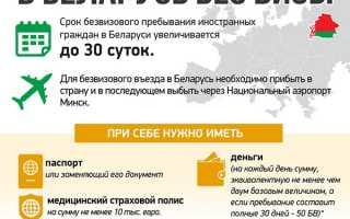 Нужен ли загранпаспорт для поездки в Беларусь в 2020 году