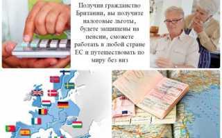 Как получить гражданство Великобритании ( Англии ) россиянину в 2020 году