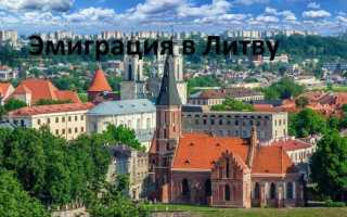 Иммиграция и переезд на ПМЖ в Литву в 2020 году