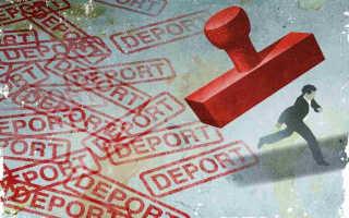 Депортация иностранцев из России в 2020 году
