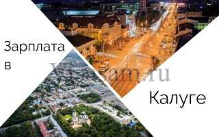 Средняя зарплата в Калуге врачей, учителей, воспитателей в 2019-2020 году: сколько получают в Калужской области по профессиям