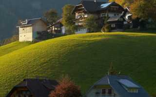 Деревни Австрии: фото и видео жизни в них