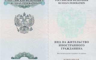 Как получить вид на жительство в России для иностранного гражданина в 2020 году