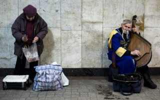 Уровень жизни на Украине в 2019-2020 годах: сравнение с Россией