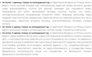 Нормы ввоза алкоголя в Беларусь в 2020 году