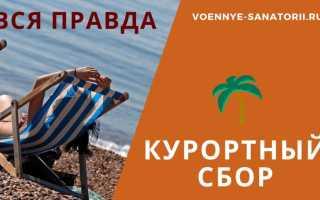 Курортный сбор в Абхазии в 2020 году