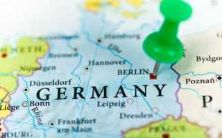 Уровень безработицы в Германии в 2019-2020 году